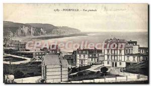 Old Postcard Pourville Vue Generale