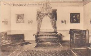 Washington DC New York Room Memorial Continental Hall D A R Albertype