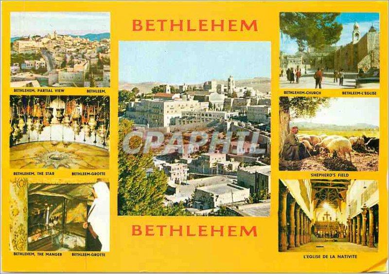 Postcard Modern Bethlehem The City of David