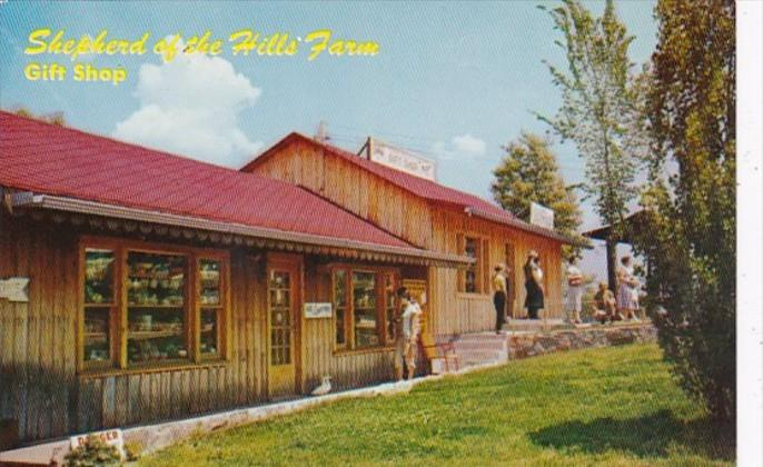 Missouri Shepherd Of The Hills Farm Old Matt's Gift Shop