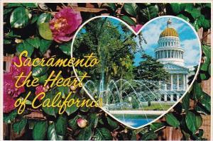 California Sacramento The Heart Of California