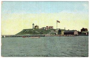 Long Island Light, Boston Harbor, Boston, Mass
