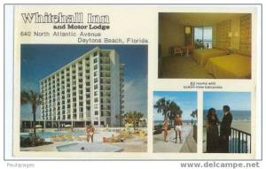 Whitehall Inn and Motor Lodge, Daytona Beach, Florida, FL, Chrome