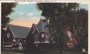 Sage Chapel, Cornell University, Ithaca, New York, 1910-1920s