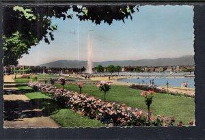 Les Parterres Fluris du Quai Gustave Ador,Geneva,Switzerland BIN