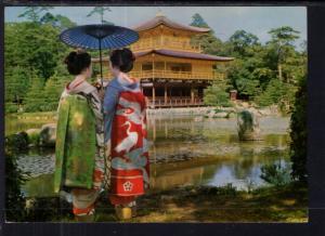 Maiko at Goolden Pavilion,Kyoto,Japan BIN