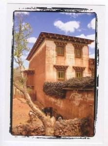 People´s Republic of China: TIBET province , house, 2000