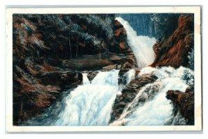 Reichenbachfal, Basel, Largest Waterfalls, Echte Wagner German Trade Card *VT31W