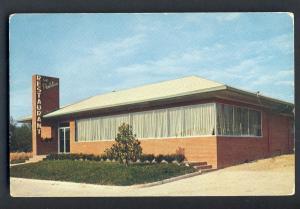 Douglas, Georgia, GA Postcard, Plantation Restaurant