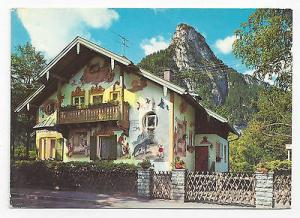 Oberammergau Germany Little Red Riding Hood House Luftlmalerei Rotkappchenhaus