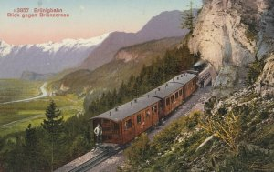 Brunigbahn, Switzerland, 1900-10s; Train