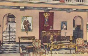 Living Room John Ringling Mansion Sarasota Florida Curteich
