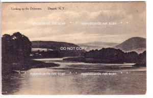 Looking up the Delaware, Deposit NY