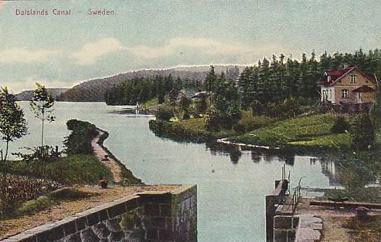 Dalslands Canal, Sweden, 1900-1910s