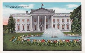 North Front Of White House Washington D C