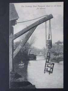 Kent Fordwich THE DUCKING CHAIR Used For SHREWS (7) Old Postcard by H & J West