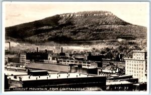 RPPC  CHATTANOOGA, Tennessee TN   View LOOKOUT MOUNTAIN  ca 1930s  Postcard