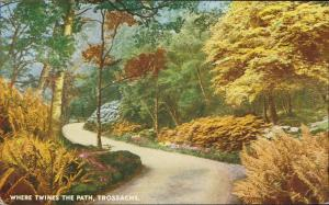 trossachs Where Twines the Path