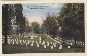 View In National Cemetery, Chattanooga, Tennessee, PU-1914