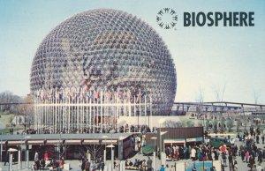 Montreal QC, Quebec, Canada - Biosphere on Ile Sainte-Helene