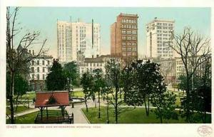 TN, Memphis, Tennessee, Court Square and Skyscrapers, Detroit Publishing 10405