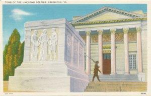 Arlington VA, Virginia - Tomb of the Unknown Soldier - Linen