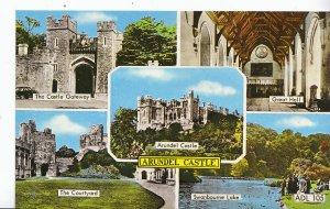 Sussex Postcard - Views of Arundel Castle       XX128