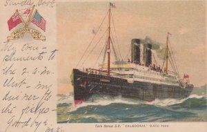 Anchor Line Ocean Liner , S.S. Caledonia , 1905