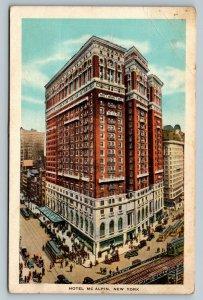 New York City NY, Hotel McAlpin, Broadway at 34th St., Vintage c1934 Postcard