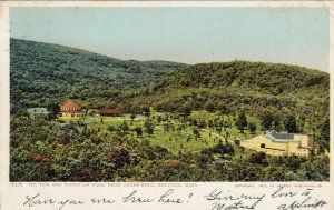 HOLYOKE , Massachusetts, 1906; Mt. Tom and Mountain Park from Cedar Knob