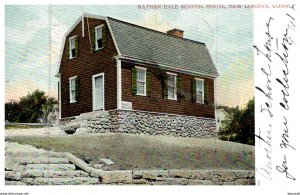 Connecticut  New London ,  Nathan Hall School House