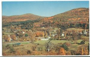 Vermont picturesque hill village, Weston, unused Postcard