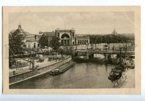 158391 Germany BERLIN Moltke Bridge Moltkebrucke Lehrter Bahnh