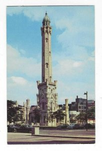1960's The Famed Tower, Michigan Ave, Chicago, IL Chrome Postcard