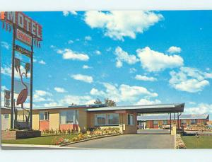 Unused Pre-1980 FLAMINGO MOTEL Medicine Hat AB n8774