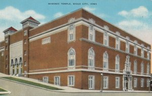 SIOUX CITY , Iowa , 1930-40s ; Masonic Temple