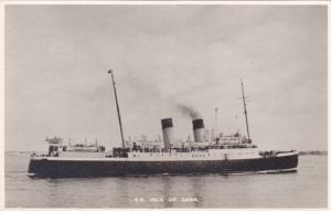 RP, Steamer/Oceanliner, S. S. Isle Of Sark., 1920-1940s