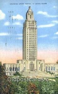 Baton Rouge, Louisiana, LA  State Capital, Capitals Postcard Post Card USA  B...