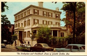 Georgia Savannah Birthplace and Childhood Home Of Juliette Low Girl Scouts Fo...