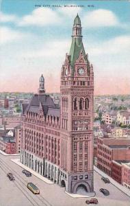 Wisconsin Milwaukee The City Hall1939