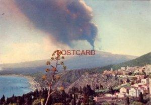 Continental-size SICILY - ETNA IN ACTTIVITA - Fumata grossa diurna