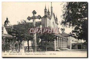 Nice surroundings - Convent Chapel Cimiez - Old Postcard