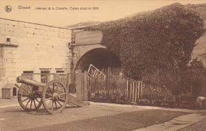 Belgium Dinant Interieure de la Citadelle Canon place en 1819