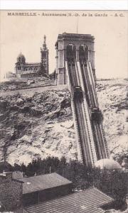 France Marseilles Ascenseurs Notre-Dame de la Garde