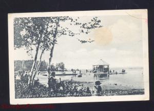PORT ARTHUR ONTARIO CANADA THUNDER BAY CHIPPEWA PARK VINTAGE POSTCARD