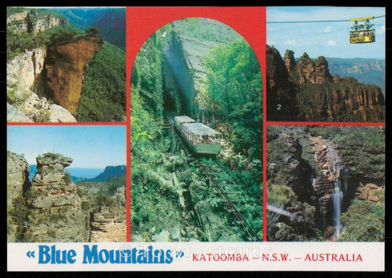 Blue Mountains - Katoomba, N.S.W., Australia