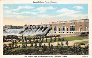 Maine Lewiston    Central Maine Power Company, Gulf Island Dam, Androscog...