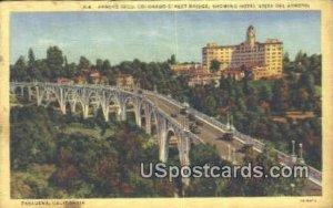 Arroyo Seco, Colorado Street Bridge - Pasadena, CA