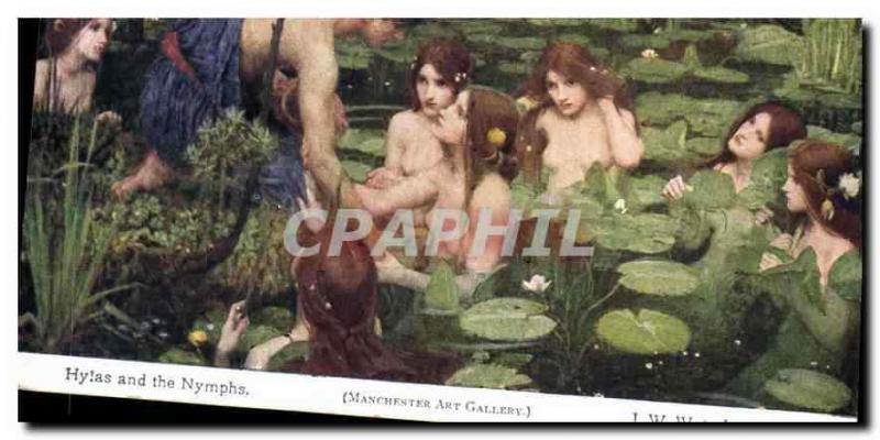 CPA Hylas and the Nymphs Manchester Art Gallery Waterhouse