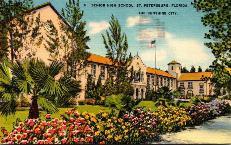 Florida St Petersburg Senior High School 1940